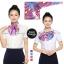 ผ้าพันคอสำเร็จรูป ผ้ายูนิฟอร์ม uniform ผ้าไหมซาติน : L18 thumbnail 1