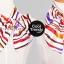 ผ้าพันคอสำเร็จรูป ผ้ายูนิฟอร์ม uniform ผ้าไหมซาติน : L223 thumbnail 3
