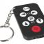 พวงกุญแจ รีโมต universal TV Remote Control for Philips Sony Panasonic Toshiba TCL thumbnail 1