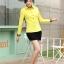 เสื้อเชิ้ตแฟชั่นผู้หญิงแขนยาว สีเหลือง thumbnail 6