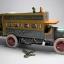 ของเล่นโบราณ รถบัส 2 ชั้น สีเหลืองไขลาน thumbnail 2