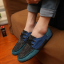 รองเท้าผู้ชาย | รองเท้าแฟชั่นชาย รองเท้าผ้าใบ แฟชั่นเกาหลี thumbnail 3