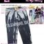 SKINNYฮิตฮอตแฟชั่นเกาหลีเก๋สุดๆ PB911 Tie Dye Skinny กางเกงสกินนี่ Skinny 5 ส่วน ฟอกลายมัดย้อม ผ้านำเข้าผ้ายืดเนื้อหนา สีเทา M thumbnail 1