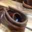 รองเท้าผู้ชาย | รองเท้าแฟชั่นชาย Brown Boots หนัง Oiled Pull Up หนังไม่ยับ ไม่แตก เวลางอขา thumbnail 4