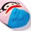 ถุงเท้าลาย paul frank สีสันสดใสน่ารัก thumbnail 3