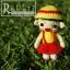 แพทเทิร์นตุ๊กตาถัก มารูโกะ thumbnail 2