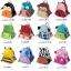 (ม้าลาย) กระเป๋าเป้งาน zoo pack พิเศษรุ่นซิปเป็นรูปสัตว์ตามแบบกระเป๋าค่ะ thumbnail 4