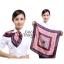 ผ้าพันคอจัตุรัส ผ้าพันคอ uniform รหัส S01 - size 60 x 60 cm thumbnail 1