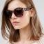 Minkpink Printed Square Frame Sunglasses thumbnail 1