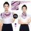 ผ้าพันคอสำเร็จรูป ผ้ายูนิฟอร์ม uniform ผ้าไหมซาติน : L12 thumbnail 1