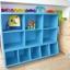 PPRAK-10 ชั้นไม้วางเก็บอุปกรณ์ สื่อการเรียนการสอนเด็กปฐมวัย