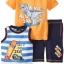 เสื้อสีเหลืองลายไดโนเสา + เสื้อกล้าม + กางเกง (เซต 3 ชิ้น) thumbnail 2