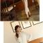 เสื้อเชิ้ตแฟชั่นทำงานผู้หญิงแขนยาวลูกไม้สีขาว ปกสีชมพูโอรส thumbnail 18