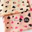 ผ้าพันคอลายหัวใจ Heart Scarf (สีชมพู) ผ้าชีฟอง 160x60 cm thumbnail 4