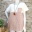 ส่ง:เสื้อผ้าป่านแต่งลายดอกแบบน่ารักแต่งเป๋าอก/อก37 thumbnail 1