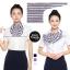 ผ้าพันคอสำเร็จรูป ผ้ายูนิฟอร์ม uniform ผ้าไหมซาติน : L22 thumbnail 1