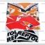 สติ๊กเกอร์ CBR150R REPSOL ปี 2016 ติดรถสีส้ม