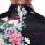 Size M / L / XL / XXLชุดกี่เพ้าตอนรับตรุษจีนสีดำเนื้อผ้าคล้ายซาตินลื่นๆนิ่มนิ่ม thumbnail 4