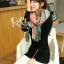 ผ้าพันคอ ผ้าคลุมพัชมีนา Pashmina scarf ลายตาราง size 200x60 cm - สี Light Pink thumbnail 8