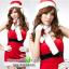 ชุดซานตาครอสสาวสีแดง thumbnail 1