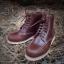 รองเท้าผู้ชาย | รองเท้าแฟชั่นชาย Cherry Boots หนัง Oiled Pull Up thumbnail 1
