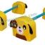 EVE-24 ชุดกระโดดข้ามสิ่งกีดขวางสุนัข 1 ชุด มี 2 คู่