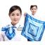 ผ้าพันคอจัตุรัส ผ้าพันคอ uniform รหัส S08 - size 60 x 60 cm thumbnail 1