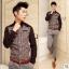 เสื้อผ้าผู้ชาย | เสื้อเชิ้ตผู้ชาย เสื้อเชิ้ตแฟชั่นชาย แขนยาว แฟชั่นเกาหลี thumbnail 3