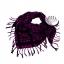 ผ้าพันคอผู้ชาย Man scarf ผ้าพันคอชีมัค Shemagh : สีม่วง size 100 x 100 cm thumbnail 4