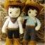 แพทเทิร์นตุ๊กตาถักคันทรี่บอย คันทรี่เกิร์ล (Country Couple) thumbnail 2