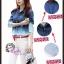 พร้อมส่ง สาวอวบใส่ได้ Gradient denim chic top ไซส์ L XL ATA538 เสื้อยีนส์ฟอกไล่สี เสื้อเชิ้ตเก๋ๆ ผ้ายีนส์นิ่ม แนวเกาหลีๆ stock 617 thumbnail 3