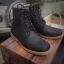 รองเท้าผู้ชาย | รองเท้าแฟชั่นชาย Dark Navy Boots หนังนูบัคแท้ กันน้ำ thumbnail 1
