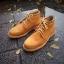 รองเท้าผู้ชาย   รองเท้าแฟชั่นชาย Tan Ankle Boot หนังนูบัคแท้ กันน้ำ thumbnail 1