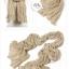 ผ้าพันคอแฟชั่น Cotton Candy : สี camel size 85 x 180 cm thumbnail 2