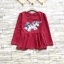 ส่ง:เสื้อต่อเอวบานสวิงแบบน่ารักแต่งปักติดเลื่อมยูนิคอร์น/อก40 thumbnail 1