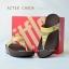 **พร้อมส่ง** รองเท้า FitFlop Aztek Chada : Pebble : Size US 7 / EU 38