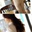 เสื้อเชิ้ตแฟชั่นทำงานผู้หญิงแขนยาวลูกไม้สีขาว ปกสีชมพูโอรส thumbnail 23