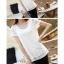 เสื้อทำงานแขนสั้นผ้าลูกไม้แฟชั่นสวยหรู thumbnail 7