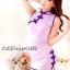 ชุดกี่เพ้าคอจีนสีม่วงอ่อนน่ารักสดใสมว๊ากอ่ะ thumbnail 2