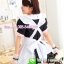 ชุดเมดเอี๊ยมขาวน่ารัก ชุดคอสเพลย์ ชุดแฟนซีอาชีพ ชุด maid ชุดแฟนซีน่ารัก ชุดแฟนซีญี่ปุ่น thumbnail 3