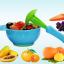 ชุดชาม บด อาหารเด็ก + ด้ามบดอาหาร สีฟ้า thumbnail 1