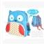 (นกฮูก) กระเป๋าเป้ zoo pack พิเศษรุ่นซิปเป็นรูปสัตว์ตามแบบกระเป๋าค่ะ thumbnail 2