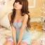 ชุดนอนน่ารักผ้าซีทรูสีชมพู มีจีสตริง thumbnail 2