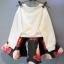 ชุดเสื้อกันหนาวลายตุ๊กตาสาวน้อย + กระโปรงผ้าโฟม (เนื้อผ้าหนาดีค่ะ) thumbnail 4