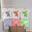 ชุดเสื้อยืดสกรีนลายม้าลาย + กางเกง (สีส้ม ผ้าดีค่ะ) thumbnail 19