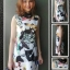 เดรสดีแอนด์จีปกคอลล่าร์ D&G BLACK & WHITE COLLAR TUBE DRESS thumbnail 1