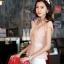 เสื้อทำงานผู้หญิงแขนสั้น ผ้าชีฟอง สีชมพู thumbnail 15