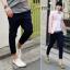 กางเกงผู้ชาย | กางเกงแฟชั่นผู้ชาย กางเกงขาห้าส่วน แฟชั่นเกาหลี thumbnail 2