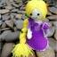 แพทเทิร์นตุ๊กตาถักราพันเซล (Amigurumi Rapunzel Pattern) thumbnail 5
