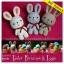 แพทเทิร์นตุ๊กตาถักกระต่ายน้อยอีสเตอร์ (Easter Bunnies) thumbnail 1